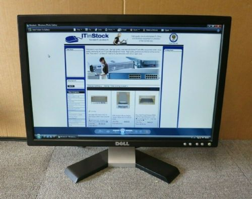 "Dell UltraSharp 0RW323 E198WFPV 19"" LCD TFT Black Widescreen Monitor VGA DVI"